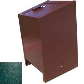 BearSaver BE Series 70 Gal. Animal Resistant Waste Receptacle - Green