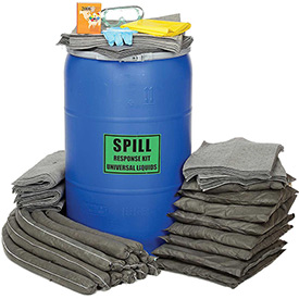Chemtex 55 Gallon Universal Drum Spill Kit, Blue