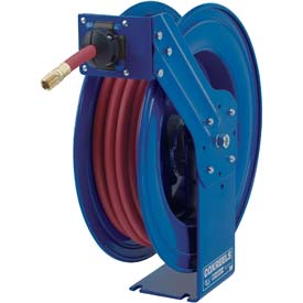 """Coxreels SH-N-550 3/4"""" x 50' 300 PSI Heavy Duty Spring Rewind Hose Reel For Air/Water by"""