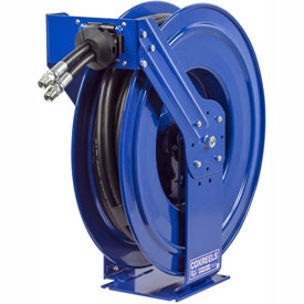50' Dual Hydraulic Spring Retractable Hose Reel 3000 psi w/out Hose