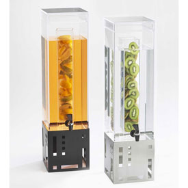"""Cal-Mil 1602-3INF-55 Squared Infusion Beverage Dispenser 3 Gal. 7-1/2""""W x... by"""