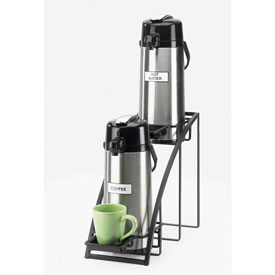 "Cal-Mil 1704-13 Mission Style Airpot Stand 8""W x 22""D x 15""H Black by"
