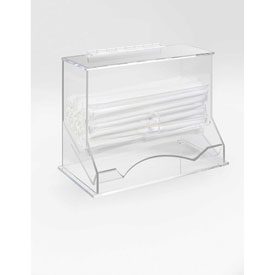 """Cal-Mil 293 Wrapped Straw Dispenser 10-1/4""""W x 5-1/4""""D x 8-1/4""""H by"""