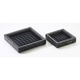 "Cal-Mil 330-6-52 Square Drip Tray 6""W x 6""D x 1""H Package Count 6 by"