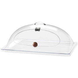 "Cal-Mil 367-12 Classic Dome Cover Side Cut w/Door 12""W x 20""D x 7-1/2""H... by"