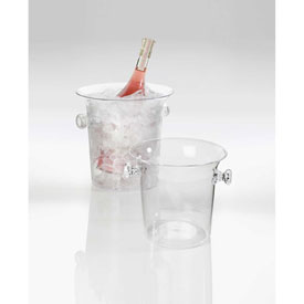 "Cal-Mil 694 Ice Bucket 8""W x 8-1/2""D x 8""H Package Count 6 by"