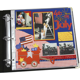 Buy C-Line Products Memory Book 12 x 12 Scrapbook Page Protectors, Top Loading, Clear, 50/BX