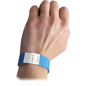 C-Line Products DuPont Tyvek Security Wristbands, Blue, 100/PK Package Count 2 by