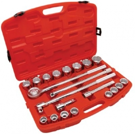 21 Piece Mechanics Tool Sets, COOPER HAND TOOLS CRESCENT CTK21SAE by