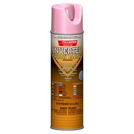 Champion Sprayon® APWA Pink Inverted Paint 12 Cans/Case - 419-4854