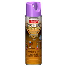 Champion Sprayon® APWA Purple Inverted Paint 12 Cans/Case - 419-4855