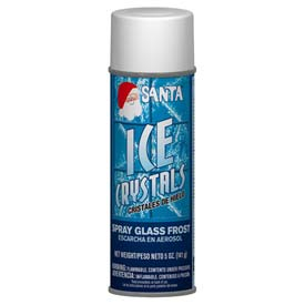 Santa® Ice Crystals Spray 6 oz. Can, 12 Cans/Case - 499-0542
