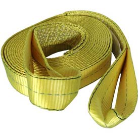 "Highland Reflective Tow Strap, 2"" x 20' W/Loops & Mesh Bag 1018300 by"