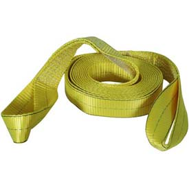 "Highland Reflective Tow Strap, 2"" x 20' W/Loops 1018400 by"