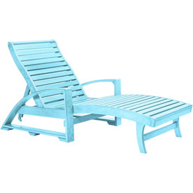 Outdoor furniture equipment chaises loungers for Aqua chaise lounge