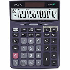 Buy Casio DJ120D Calculator, 12-Digit LCD