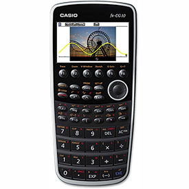 Buy Casio PRIZM FX-CG10 Graphing Calculator, 21-Digit Color LCD