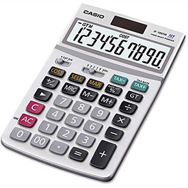 Buy Casio JF100MS Desktop Calculator, 10-Digit LCD