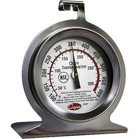 Cooper-Atkins 24HP-01-1 Dial Oven Thermometer, NSF, HACCP. Stainless Steel, NSF by