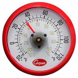 Cooper-Atkins Cooler Thermometer, 535-0-8, With Magnetic Back Min Count 26 by
