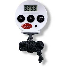 Cooper-Atkins Timer/Stopwatch, TS100-0-8 Min Count 6 by