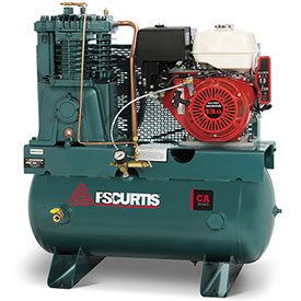 Buy FS-Curtis FCAHEE57H3X-AXL1XX, 13HP, Two-Stage Comp., 30 Gal, Horiz., 175 PSI, Honda, Electric Start