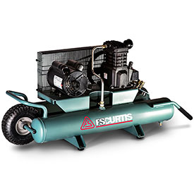 Buy FS-Curtis FCT02C48H9X-A1X1XX,2 HP,Wheelbarrow Compressor,9 Gal,Horiz.,135 PSI,5.5 CFM,1-Phase 115V