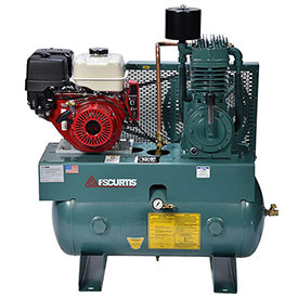 Buy FS-Curtis FCTHEC75H3X-AXL1XX, 13HP, Two-Stage Comp., 30 Gal, Horiz., 175 PSI, Honda, Electric Start
