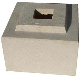 "Cubic Pedestal Riser For 30"" Cubic Planter, Autumn Leaf"