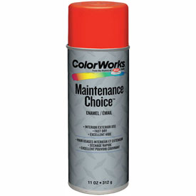 Krylon Industrial Colorworks Enamel Equipment Orange - CWBK00117 - Pkg Qty 6