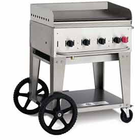 "Crown Verity Mobile Outdoor Griddle 30"" NG MG-30 by"