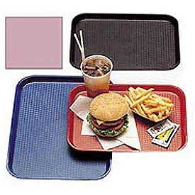 "Cambro 1014FF409 - Tray Fast Food 10"" x 14"",  Blush - Pkg Qty 24"