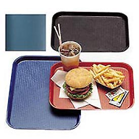 "Cambro 1014FF414 - Tray Fast Food 10"" x 14"",  Teal - Pkg Qty 24"