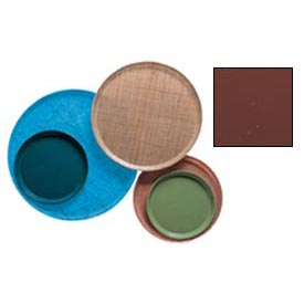 """Cambro 1100501 - Camtray 11"""" Round,  Real Rust - Pkg Qty 12"""