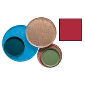 """Cambro 1100521 - Camtray 11"""" Round,  Cambro Red - Pkg Qty 12"""