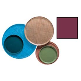 "Cambro 1100522 - Camtray 11"" Round,  Burgundy Wine - Pkg Qty 12"