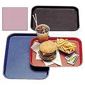 "Cambro 1216FF409 - Tray Fast Food 12"" x 16"",  Blush - Pkg Qty 12"