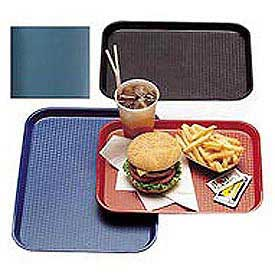 "Cambro 1216FF414 - Tray, Fast Food, Teal, 12"" x 16""  - Pkg Qty 24"
