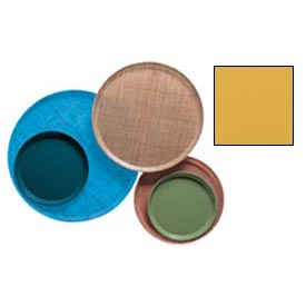 """Cambro 1400171 - Camtray 14"""" Round,  Tuscan Gold - Pkg Qty 12"""