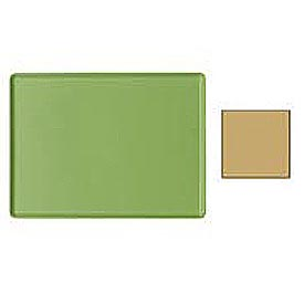 "Cambro 1216D428 - Tray Dietary 12"" x 16"", Olive Green - Pkg Qty 12"