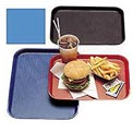 "Cambro 1418FF168 - Tray Fast Food 14"" x 18"",  Blue - Pkg Qty 12"