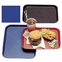 "Cambro 1418FF186 - Tray Fast Food 14"" x 18"",  Navy  Blue - Pkg Qty 12"