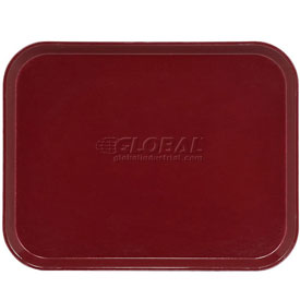 "Cambro 1520522 - Camtray 15"" x 20"" Rectangular,  Burgundy Wine - Pkg Qty 12"