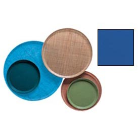 """Cambro 1550123 - Camtray 15.5"""" Round Low,  Amazon Blue - Pkg Qty 12"""