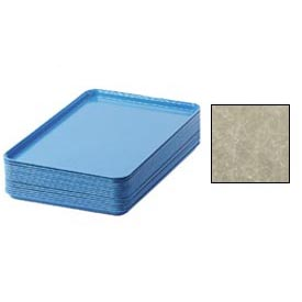 "Cambro 1826104 - Camtray 18"" x 26"" Rectangular,  Desert Tan - Pkg Qty 6"
