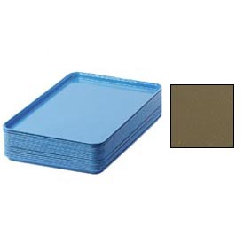 "Cambro 1826513 - Camtray 18"" x 26"" Rectangular,  Bayleaf Brown - Pkg Qty 6"