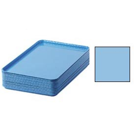 "Cambro 1826518 - Camtray 18"" x 26"" Rectangular,  Robin Egg Blue - Pkg Qty 6"