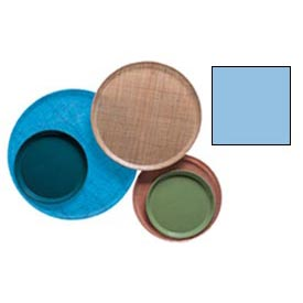 "Cambro 1950518 - Camtray 19.5"" Round Low,  Robin Egg Blue - Pkg Qty 12"