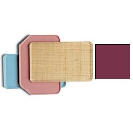 Cambro 3253522 - Camtray 32 x 53cm Metric, Burgundy Wine - Pkg Qty 12