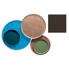 """Cambro 900116 - Camtray 9"""" Round,  Brazil Brown - Pkg Qty 12"""